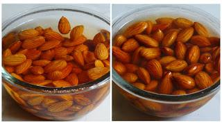 veg, vegan, Fusion, beverages and drinks, Kids Recipes, Bachelor Recipes, healthy recipes, almond recipes, almond, milk, How to make almond milk-homemade almond milk recipe-almond milk (step by step with photo)