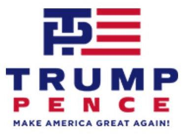 Trump/Pence Logo Only Lasts One Day
