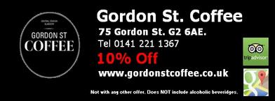 Gordon street coffee GlasgowCard