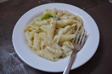 Penne Pasta in White Sauce   Easy Dinner Recipe