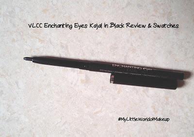VLCC Enchanting Eyes Kajal in Black - Review & Swatches