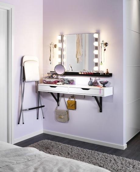 DIY Vanity Table Ideas from Pinterest