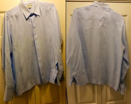 Photos of Danny Huston's screen-worn Renato shirt courtesy of Eric J. Tidd.