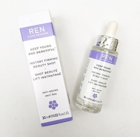 Review: Ren Instant Firming Beauty Shot 30ml