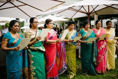 An Elegant Western-Sri Lankan Style Wedding by Michael Schultz Photography