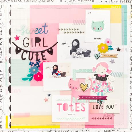 Crate Paper Design Team : Sweet Girl