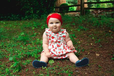 Strawberries and Polka Dots | www.eccentricowl.com