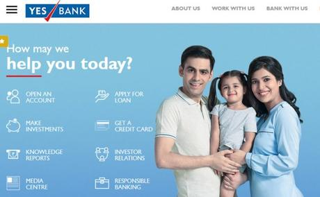 YES BANK website review