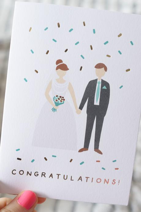 Evermade Hello Freckles Unique Gifts Stationery Review Artwork Wedding Card