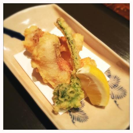 Sea bream tempura