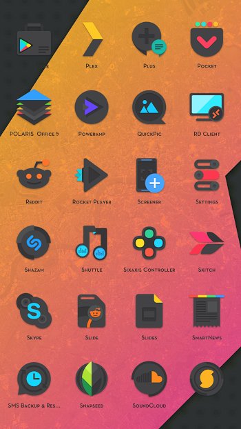 Crispy Dark – Icon Pack APK v1.0.0 Download for Android