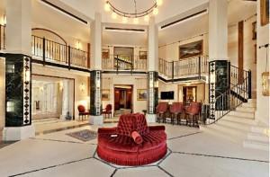Rocking Hotel Lobby Chairs