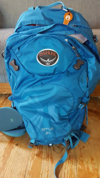 If you see someone with this pack walking NH - say