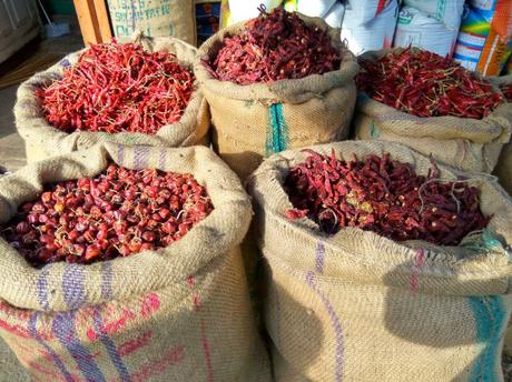 Don't miss the various kind of red chilli for sale