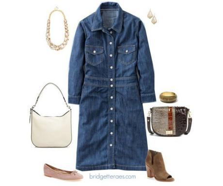 Chambray Dresses You Can Wear in the Summer and the Fall