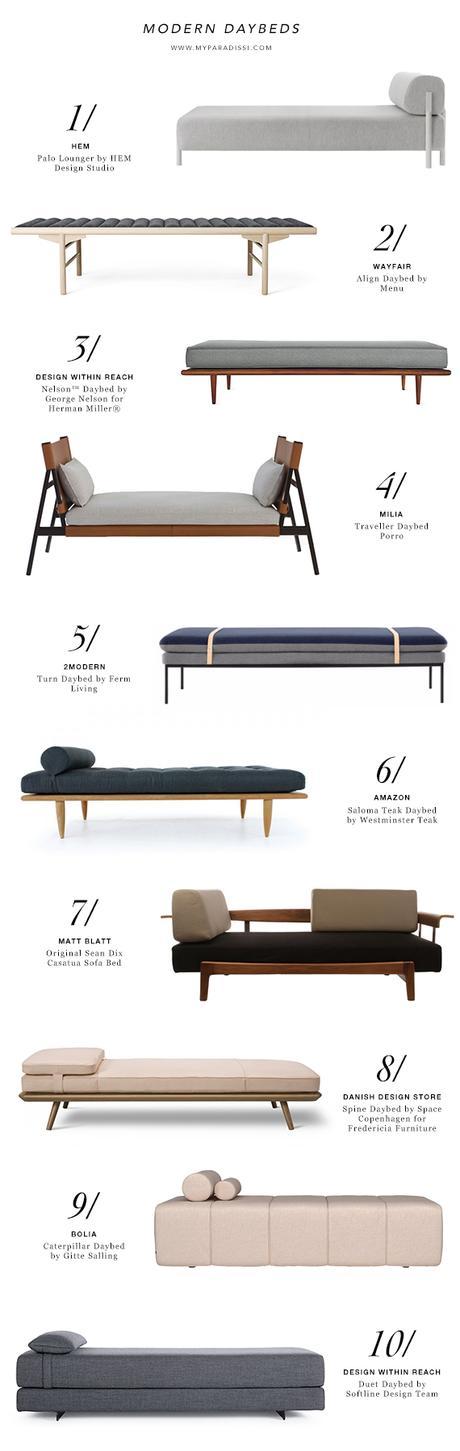 10 best modern daybeds