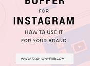 Buffer Instagram: Your Brand