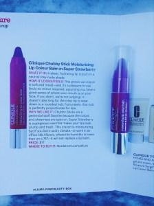 Clinique Chubby Stick Moisturizing Lip Colour Balm in Super Strawberry