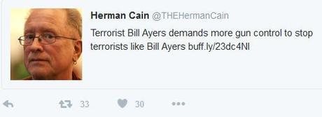 Bill Ayers for gun control
