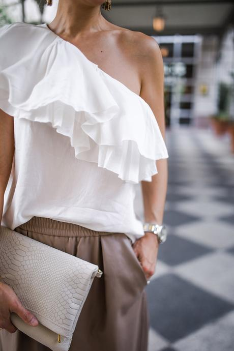 Chic at Every Age // One Shoulder Top