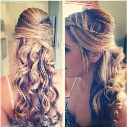 Pleasant Curly Homecoming Hairstyles For Short Medium Amp Long Hair Paperblog Hairstyle Inspiration Daily Dogsangcom
