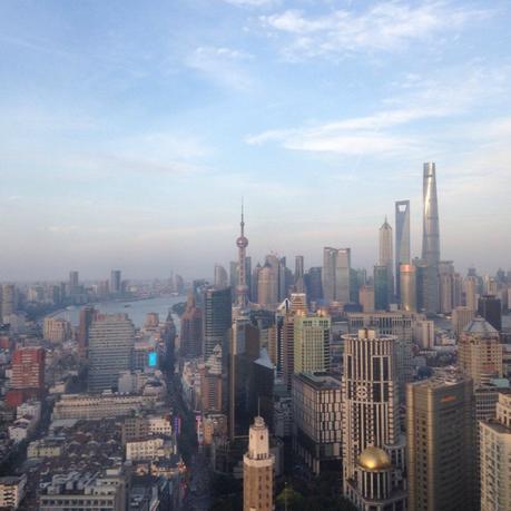 Travelling to Shanghai China