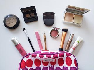 What was in my travel make-up bag