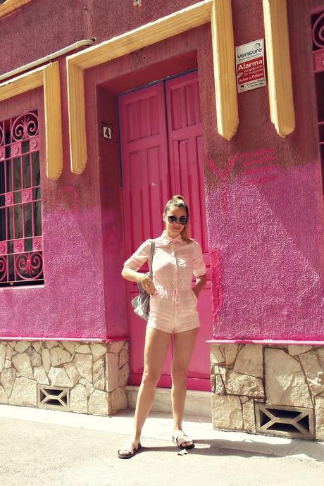 Landing No169: The Pink Jumpsuit