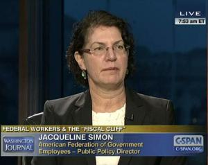 AFGE policy director Jacqueline Simon