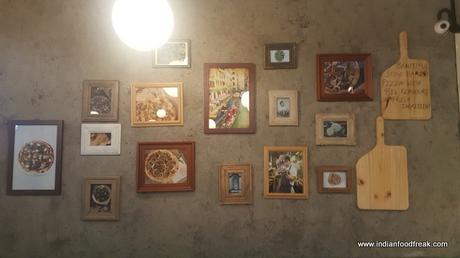 Jamie´s Creations on the barren wall