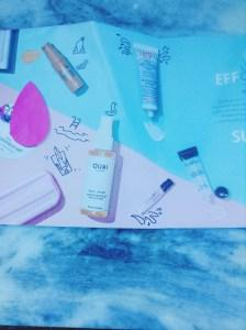 JULY 2016 SEPHORA PLAY BOX card