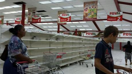 Typical grocery story in Venezuela