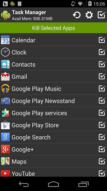 Task Manager Pro (Task Killer)- screenshot