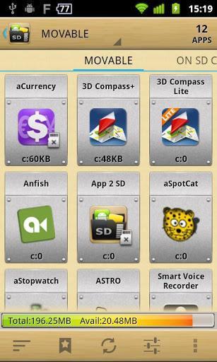 AppMgr Pro III APK v3.95 (App 2 SD) Download for Android