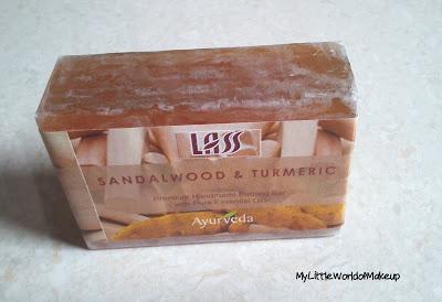 Lass Naturals Sandalwood & Turmeric Soap Review