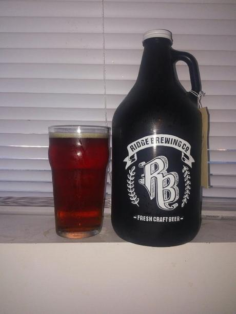 Hairy Donut Amber Ale – Ridge Brewing Company