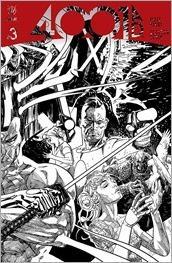 4001 A.D. #3 Cover - Sook Interlocking Sketch Variant
