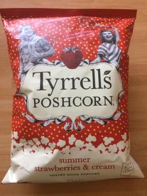 Today's Review: Tyrrell's Poshcorn Summer Strawberries & Cream