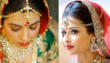 Bun Hairstyle for Indian wedding