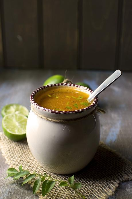 Tangy Indian style Lemon soup