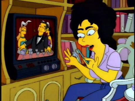 Elizabeth Taylor The Simpsons
