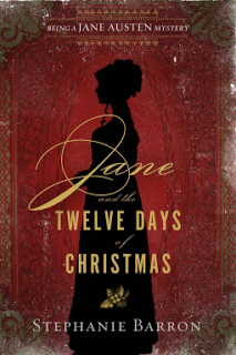 Review:  Jane and the Twelve Days of Christmas by Stepahnie Barron