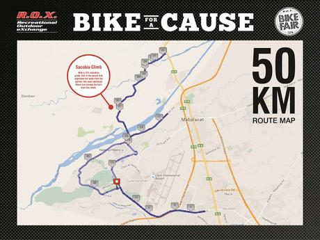 R.O.X. Bike For A Cause - One Bicycle Can Make All The Difference
