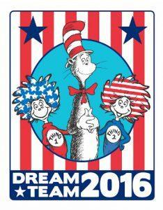 The Cat in the Hat for President 2016 #catinhat4prez