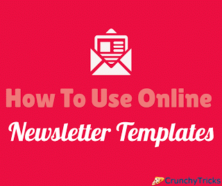 Guide On How To Use Online Newsletter Templates