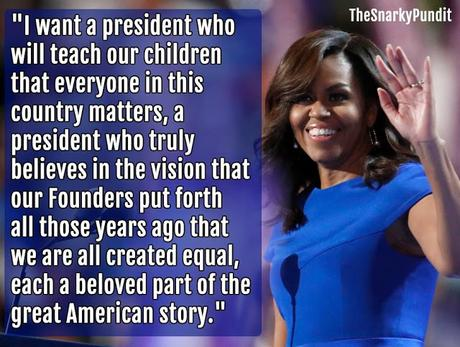 Michelle Gave The Best Speech On Convention's First Day