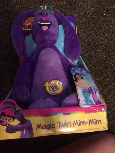 Kate & Mim-mim magic twirl plush