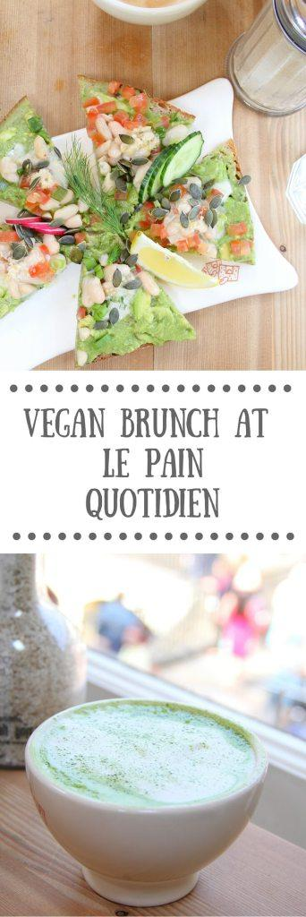 Vegan Brunch at Le Pain Quotidien
