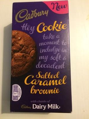 Today's Review: Cadbury Salted Caramel Brownie Cookies