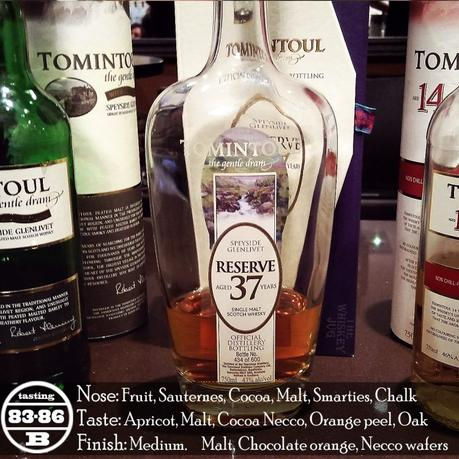 Tomintoul 37 Review